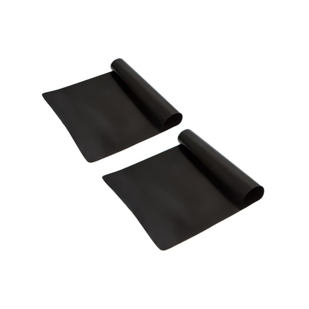 2-Pack:Non-Stick Grilling or Baking Sheet