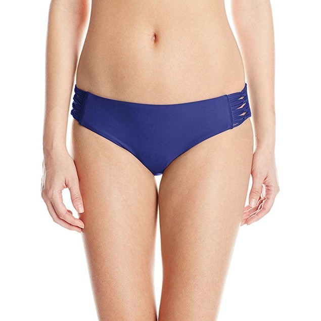Body Glove Women's Smoothies Ruby Bikini Bottom, Midnight, XL
