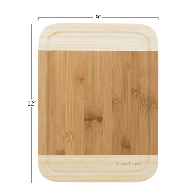 Two Tone Bamboo Cutting Board