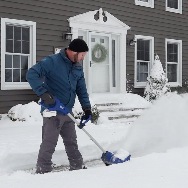 "Snow Joe 11"" 24-Volt iON+ Cordless Snow Shovel Kit"