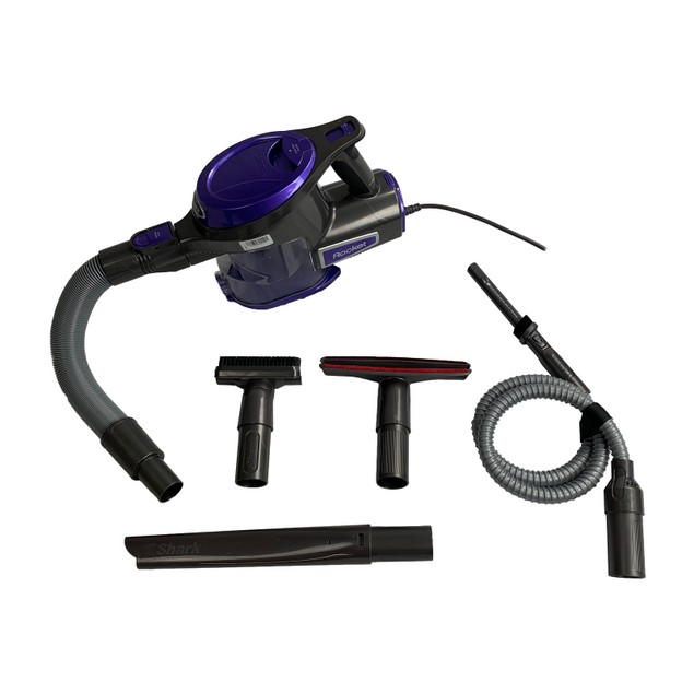 Shark Rocket Corded Bagless Hand Vacuum, Purple, HV294QPR