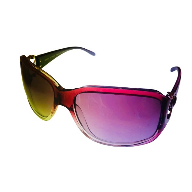 Esprit Womens Sunglass Violet Fade Rectangle Plastic, ET19314 577
