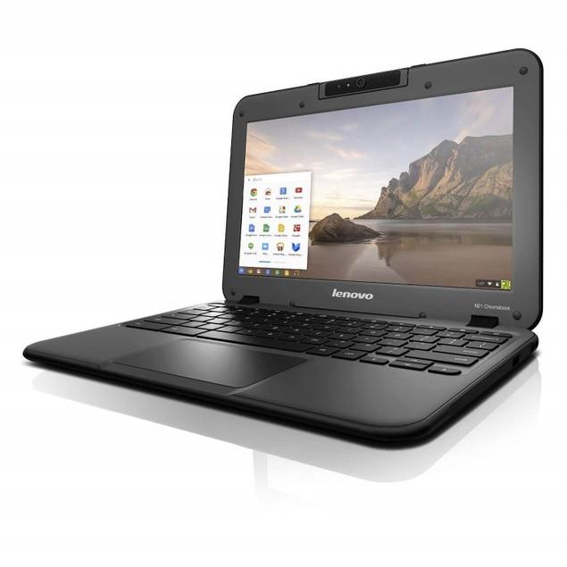 """Lenovo Chromebook N21 Intel Celeron N2840 X2 2.16GHz 4GB 16GB SSD 11.6"""",Bl"""