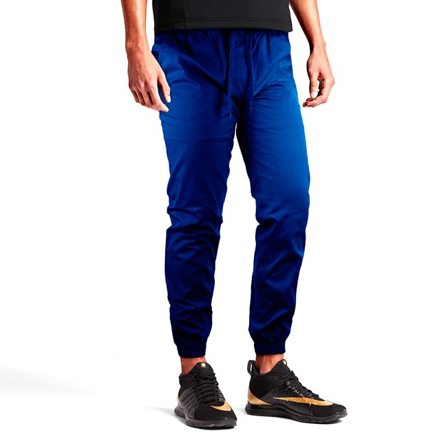 Men's Slim-Fit 100% Cotton Twill Joggers