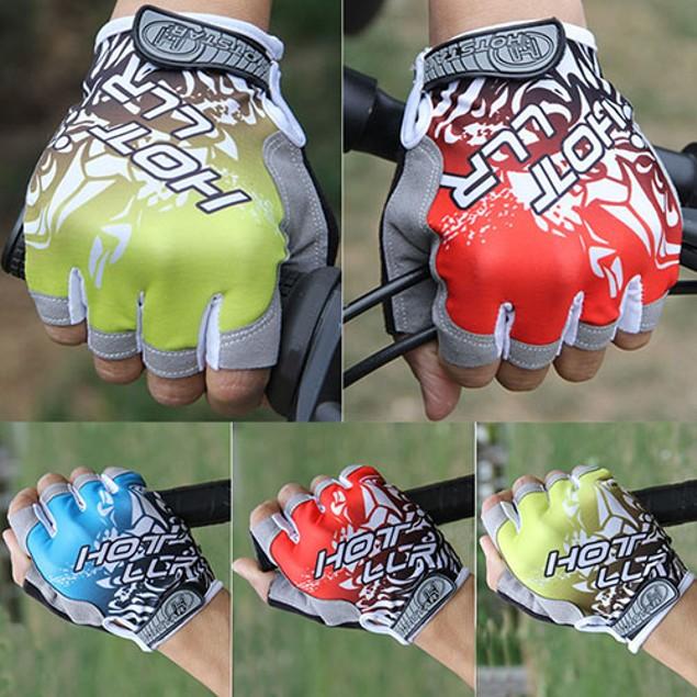 Unisex Outdoor Bicycle Tactical Equipment Half Finger Gloves