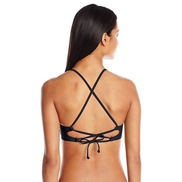 Body Glove Women's Smoothies Mika Halter Triangle Swimsuit Bikini Top