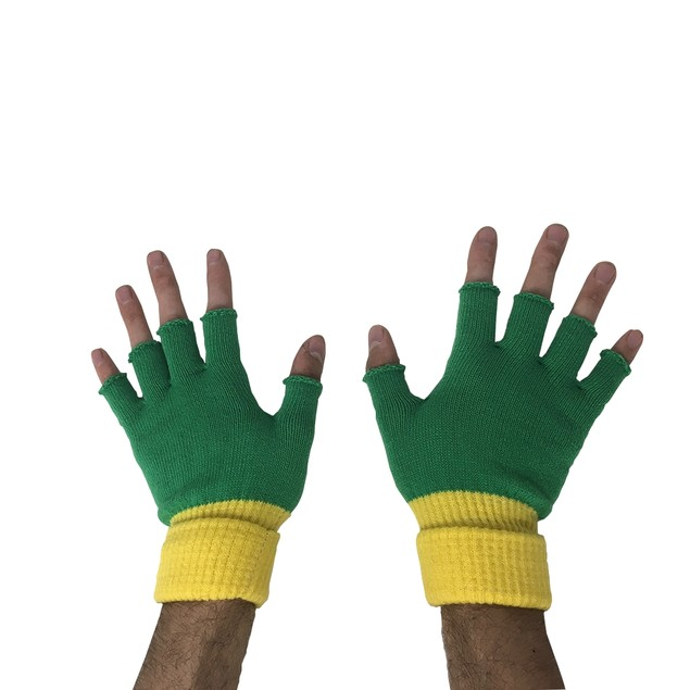 Ash Ketchum Trainer Fingerless Gloves (Pair)