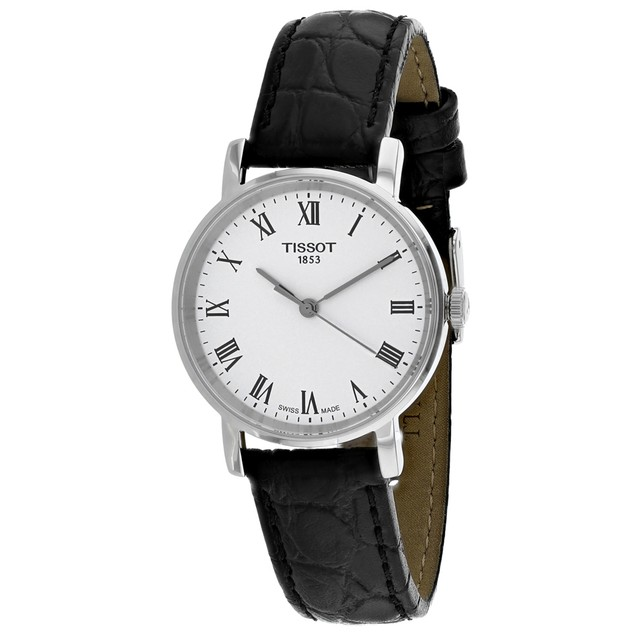 Tissot Men's Everytime White Dial Watch - T1092101603300