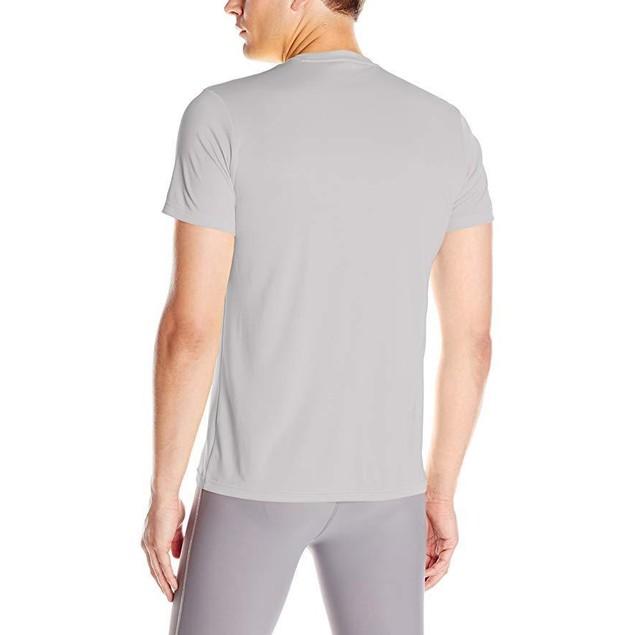 adidas Men's Training Essentials Tech Tee, Medium Grey SZ: L
