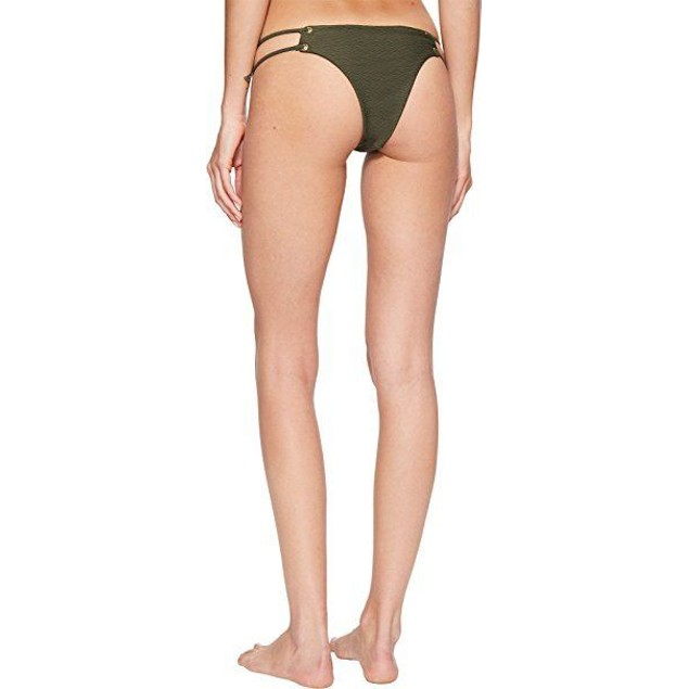 Blue Life Women's Roped Up Skimpy Bottom Fern Swimsuit Bottoms SZ: SMA