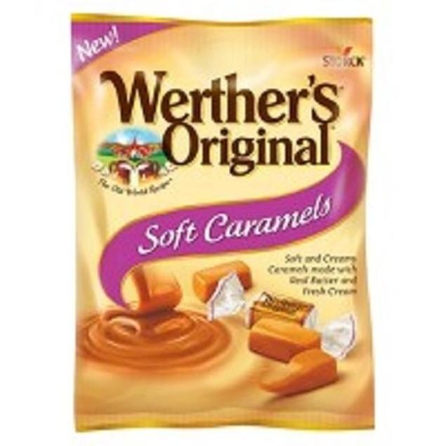 Werther's Original Soft Caramels 2 Bag Pack