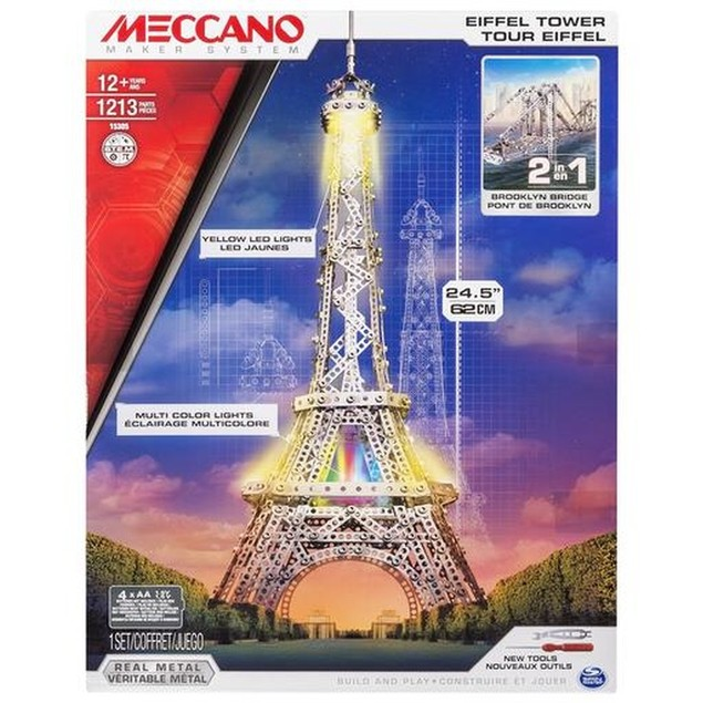 Meccano Eiffel Tower, France by Spin Master Inc