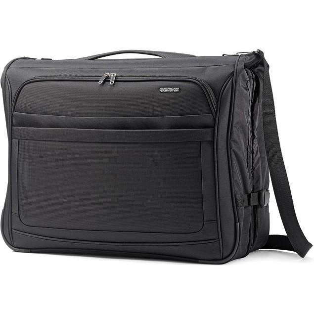 American Tourister iLite Max Ultra Valet Garment Bag, Stylish Design, Black