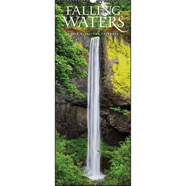 Falling Waters Wall Calendar, Nature by Calendars