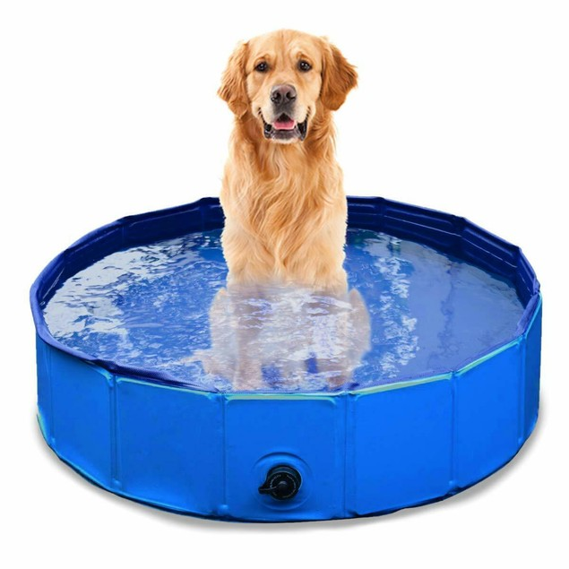Zone Tech Collapsible Outdoor Portable Swimming Kids Pet Summer Pool
