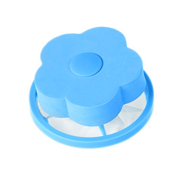 Washing Machine Hair Removal Laundry Ball Floating Filter Mesh Bag