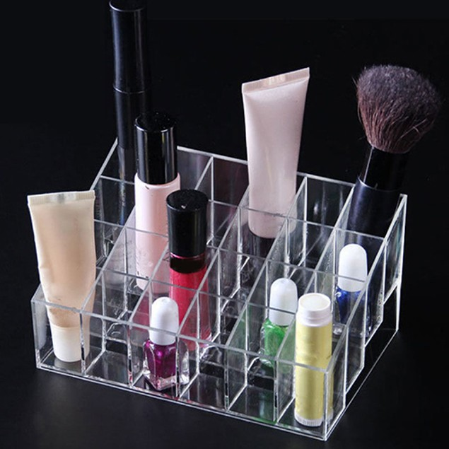 40/24 Lipstick Brush Storage Stand Holder Makeup Cosmetic Organizer