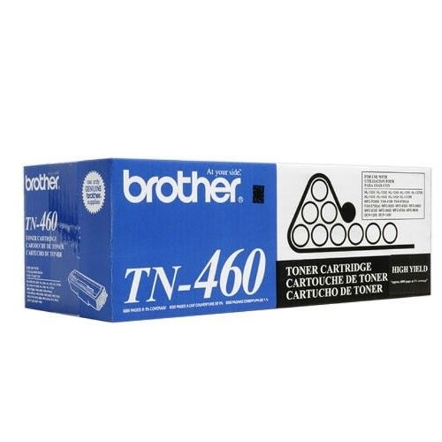 Brother TN-460 Black Toner Cartridge Genuine New Factory Sealed HL-1030