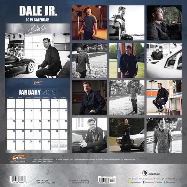 Dale Earnhardt Jr Off the Track Wall Calendar, NASCAR by Calendars