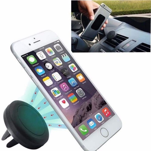 Magnetic Car Vent Mount Holder Stand for Mobile Cell Phone iPhone GPS UF