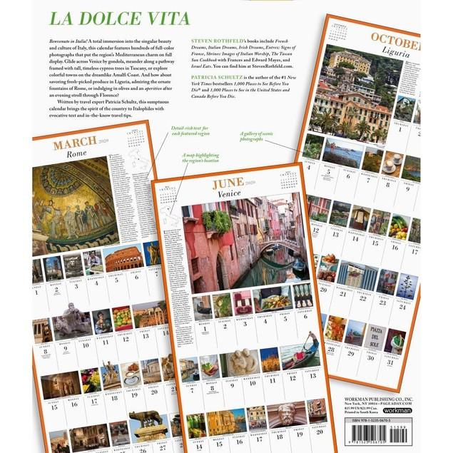 365 Days of Italy Wall Calendar, Italy by Calendars