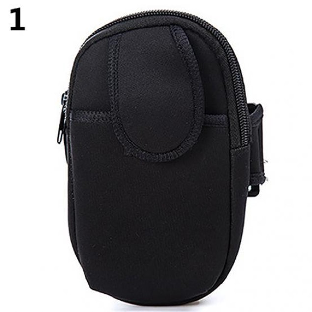 Sports Outdoors Armband Belt Pouch Bag