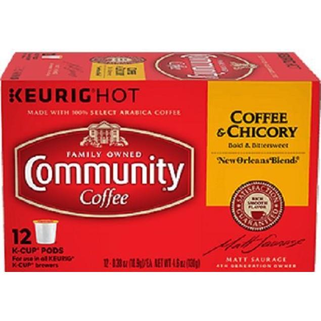 Community Coffee & Chicory Coffee Keurig K Cup 2 Box Pack