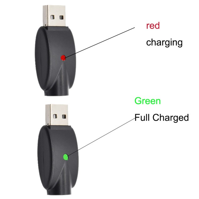 2pcs USB Charger Cables Compatible for 510 Thread USB Ego Charger