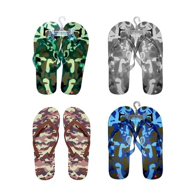 Men's Camo Flip Flops Beach Sandals