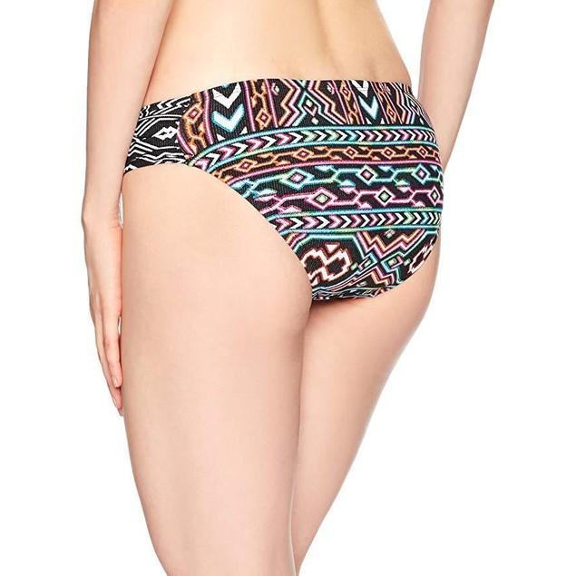 La Blanca Women's Side Shirred Hipster Bikini Swimsuit Bottom, Black S