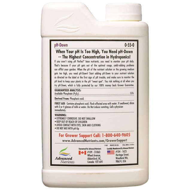 Advanced Nutrients pH-Down 1L