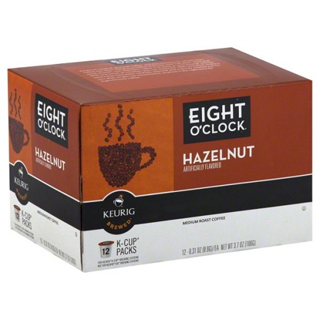 Eight O' Clock Hazelnut Coffee Keurig K Cups