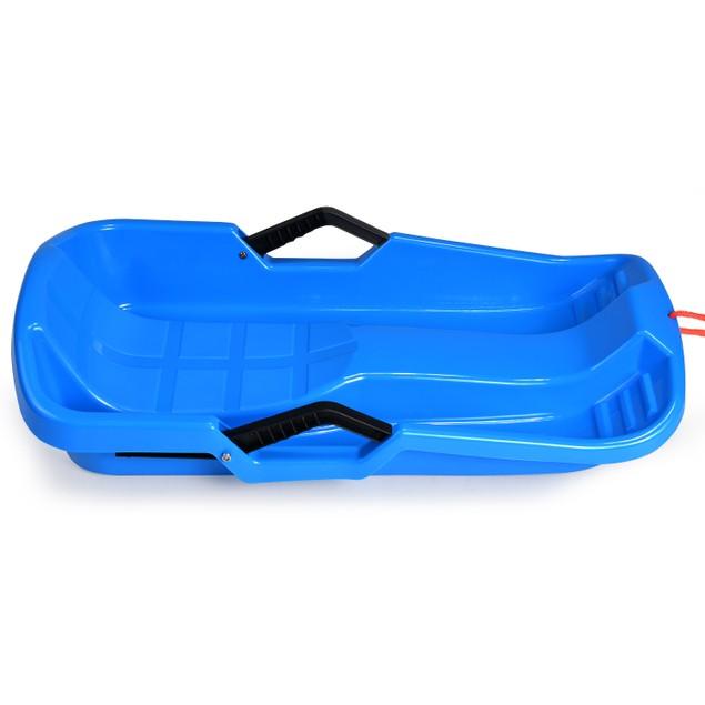Winter durable Plastic snow Sled in boat shape Snow Sledge Snow board Seats