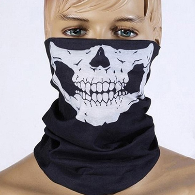 Motorcycle Skull Face Mask