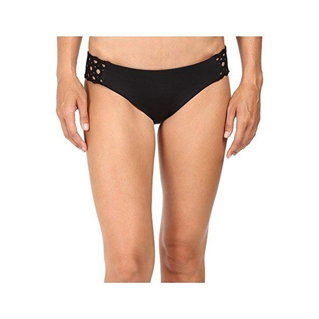 Becca by Rebecca Virtue Women's Siren Tab Side Hipster Bikini Bottom S
