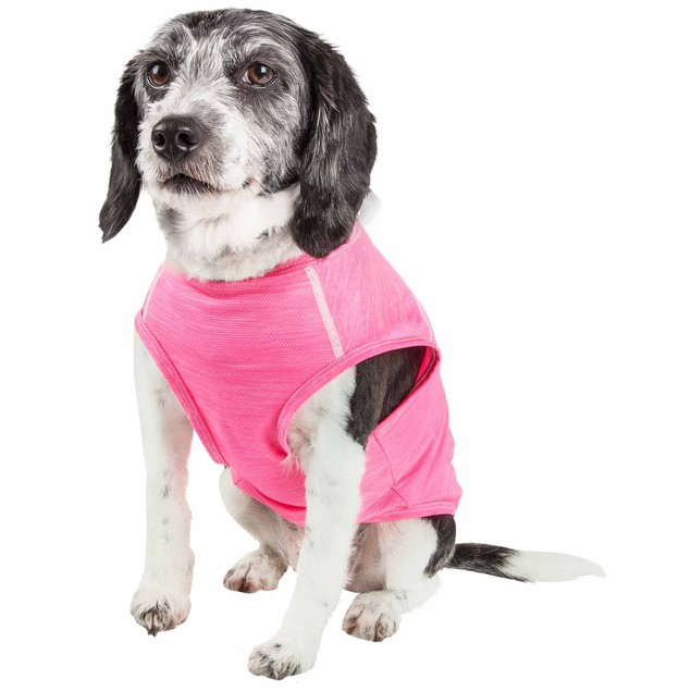 Pet Life Active 'Aero-Pawlse' Quick-Dry Performance Dog Tank Top T-Shirt