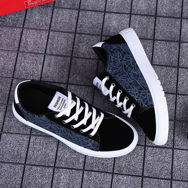 Men Casual Lightweight Walking Sport Lace-Up Shoes Sneakers Running Shoes