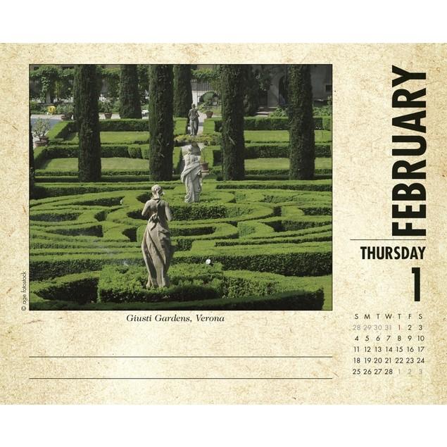 Italy Desk Calendar, Italy by Calendars