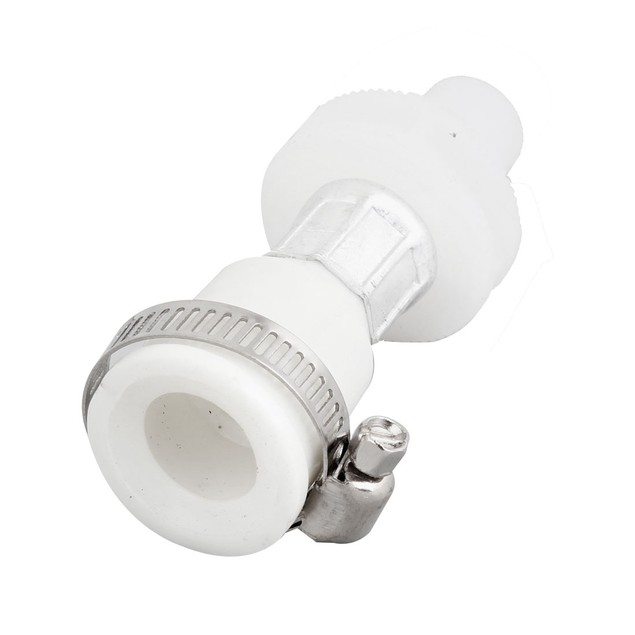 Home Washing Machine Washer Faucet Water Tap Universal Adapter White
