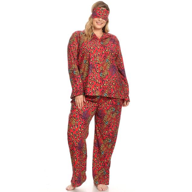 Three-Piece Pajama Set - 10 Colors