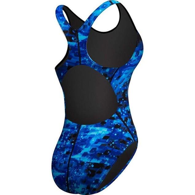 TYR MVEG7A Women's Vega Maxfit Swimsuit, Blue SZ:  28