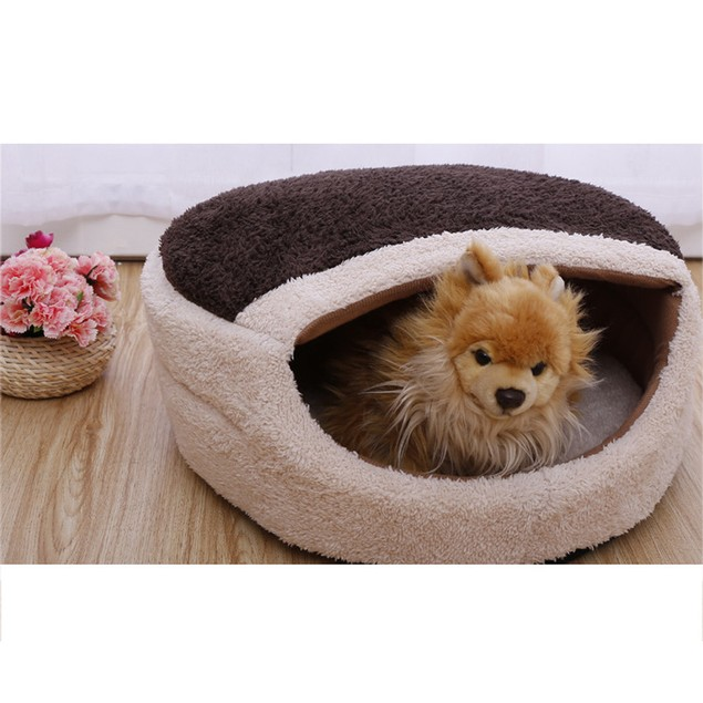 Cozy Pet Bed with Cover - Assorted Colors