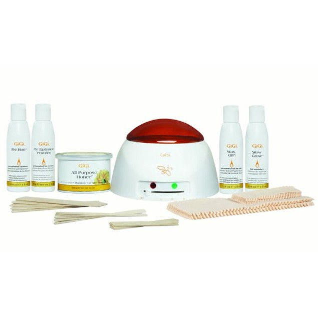GiGi Student Starter Hair Removal Waxing Kit