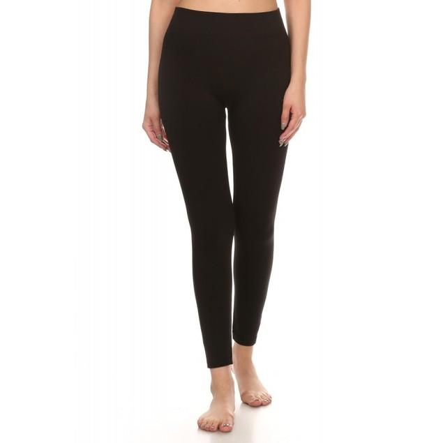 5-Pack Women's Black Premium Leggings