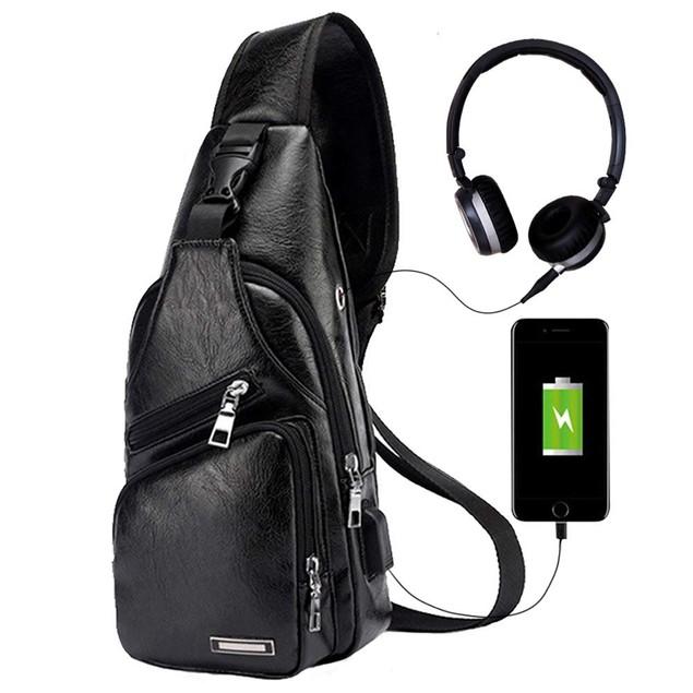 Men's Bag with USB port