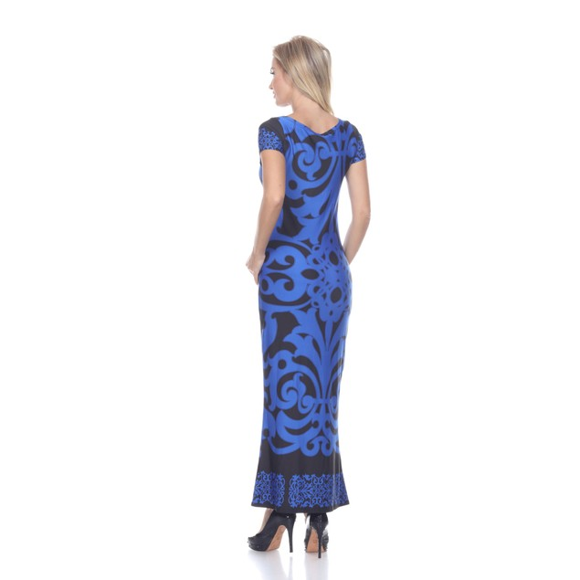 Raven Maxi Dress - Royal Black