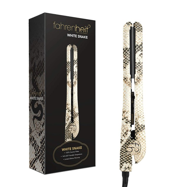 "Fahrenheit Heat Wave Collection 1.25"" Ceramic Plated Flat Iron"
