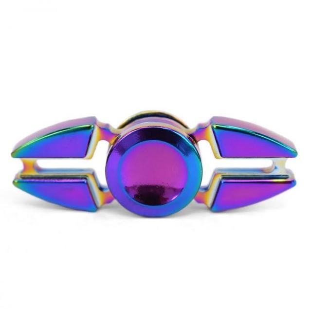 Pointed Rainbow Fidget Spinner
