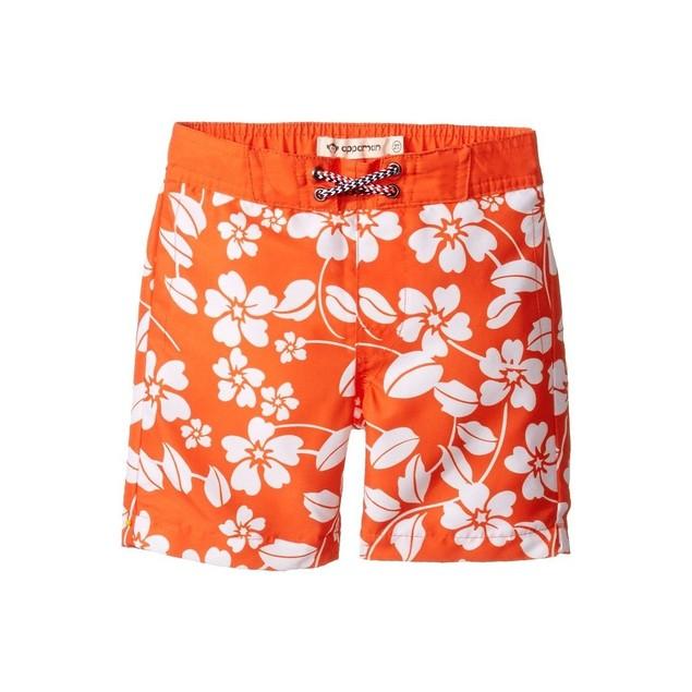 Appaman Kids Baby Boy's Island Floral Swim Trunks SIZE 7