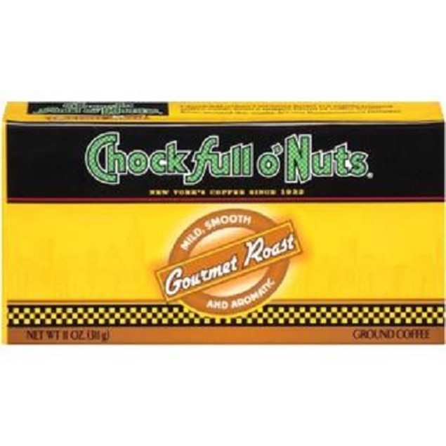 Chock Full O Nuts Gourmet Roast Ground Coffee Refill 2 Pack